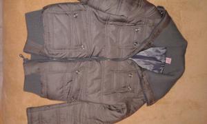 Campera gris de abrigo talle 1