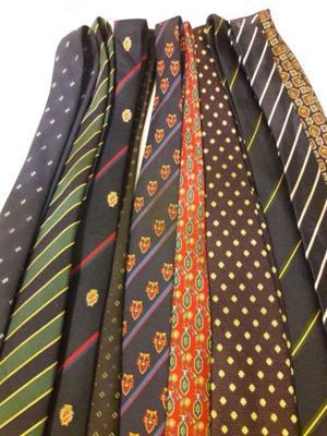 Corbatas Varias Lote de 10. Impecables