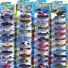 Hot Wheels Lote X 10 Unidades Originales Mattel Murphytoys