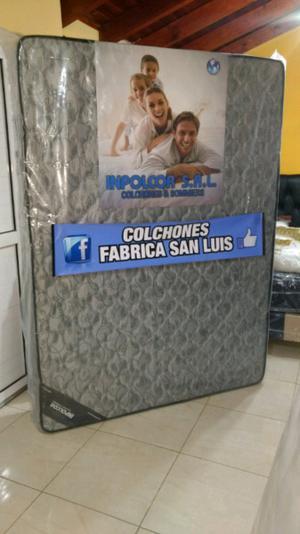 INPOLCOR COLCHON DE 2 PLAZAS ESPUMA 30 kg