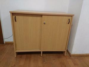 Mueble tipo biblioteca excelente estado posot class - Muebles con puertas corredizas ...