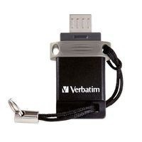 Pendrive Verbatim Dual 16 Gb + Micro Usb Tablet Celular Pc
