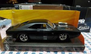 Rapido Y Furioso Dom's Dodge Charger R/t 1/24 Negro Mate!!!