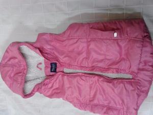 chaleco MIMO Con Capucha interior piel t6 Sin Mangas rosa