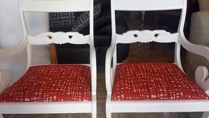 vendo 2 bellos sillones SHERATON
