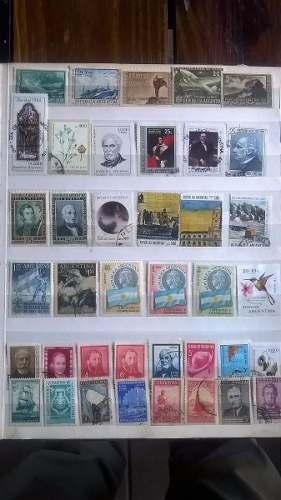 114 Estampillas De Argentina Todas Distintas