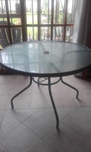 COMBO de mesa y sillones de jardín