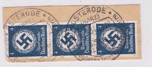 Corte De Sobre Estampillas -alemania Subasta -tesoros
