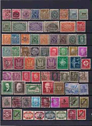 Estampillas De Alemania Reich (lote Nº 5)