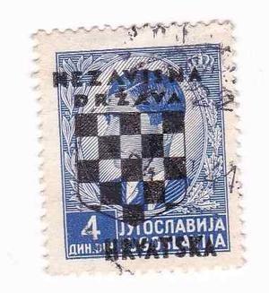 Estampillas -alemania Ocupacion Croacia ! Subasta -tesoros