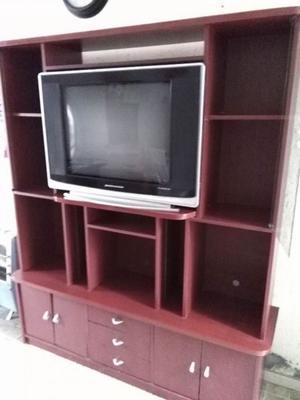 """Rack modular + TV 29"""" Pantalla plana"""