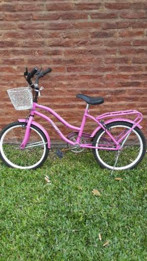 Vendo bicicleta rodado 16 nena usada.marca olimpus