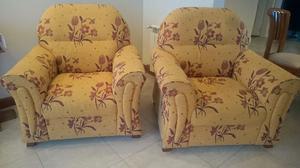 Vendo hermosos sillones tapizados listos para usar
