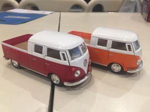 Volkswagen Bus Double Cabina Pickup Escala 1/34