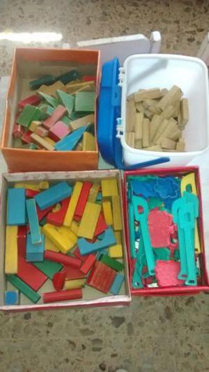maderitas para construcción niños