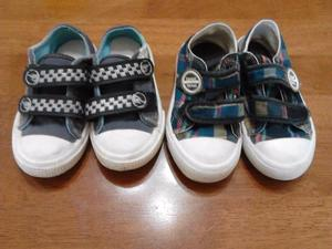 zapatillas con abrojo nene