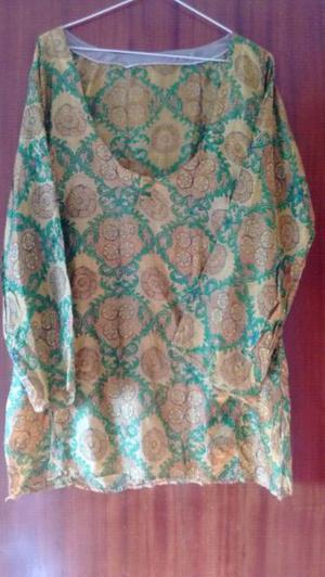 Camisola de Seda de la India NUEVA T.M/L