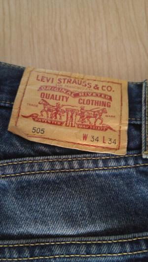Dos jeans hombre talle 34 un livi strauss 505 y un jans