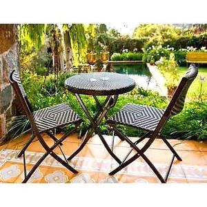 Juego de sillas y mesa para jardin de junin posot class - Sillas plegables jardin ...