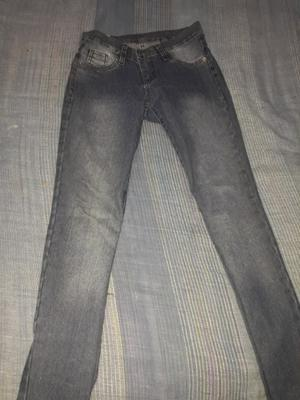 Jeans tiro alto talle 40