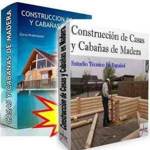 Kit Construccion De Casas Y Cabañas De Madera - Completo!