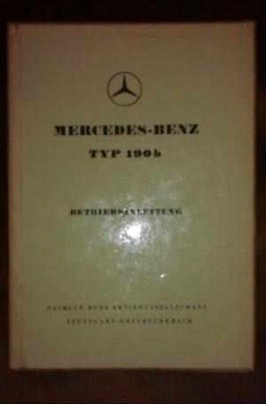 Manual Mercedes Benz 190 B