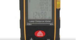 Medidor Laser de Distancia 80mts.