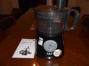 Motor y jarra de multiprocesadora procesadora BKF sin uso en