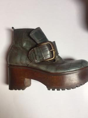 Zapato Prüne de cuero 36
