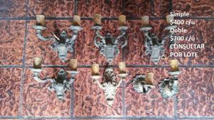 Apliques antiguos de bronce