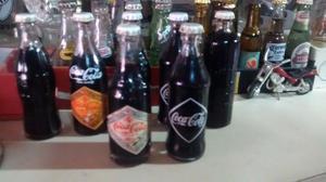 Botellitas Miniatura de Coca Cola