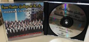 CD del Coro Centro Gallego de Buenos Aires Año
