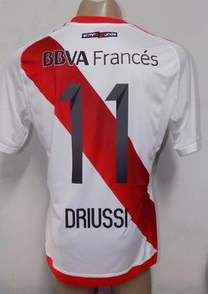 Camiseta River Plate 11 Driussi  Ho