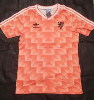 Camiseta adidas Retro Holanda  Van Basten Gullit