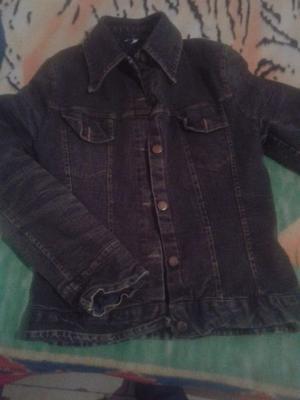 Campera de jeans para invierno