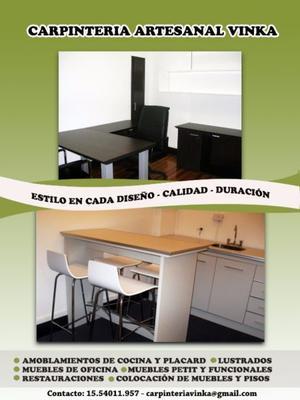 Carpinteria Vinka Muebles de cocina - Restauraciones