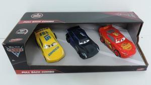 Cars 3 Autos A Friccion Original Toymaker 13 Cm Rayo Dinoco
