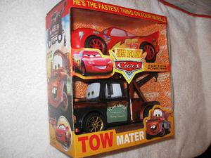 Cars Disney Set Rayo Mcqueen + Grúa Mate X2 Autos A