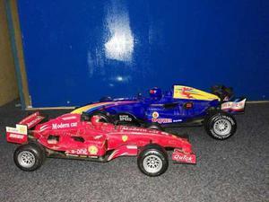 Dos Autos A Friccion Formula Uno