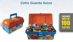 Hot Wheels Valija Maleta Guarda Autos 100 Capacidad
