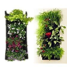 Jardin Vertical 26x70cm 3 Bolsillos. Para Huerta, Flores