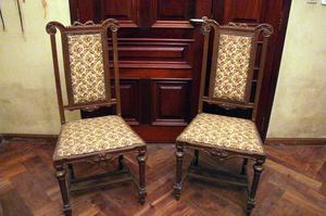 Vendo juego de sillones estilo antiguo posot class - Sillones estilo frances ...
