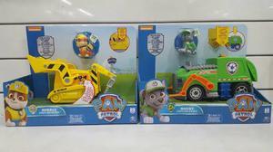 July Toys - Camión Paw Patrol Con Personaje Luz Y Sonido