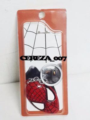 Llavero De Spiderman De Metal