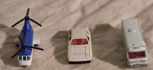 Lote de 3 autos de coleccion marca TOMICA