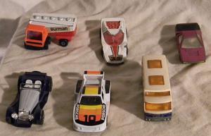 Lote de 6 autos de coleccion marca Matchboxs