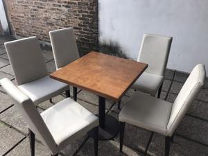 Mobiliario para pub / restaurant 100 sillas y 32 mesas