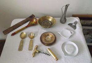 Objetos varios de decoración