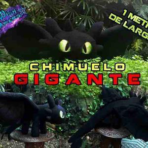 Peluche Chimuelo Gigante 100cm De Largo Premium Wishmakers