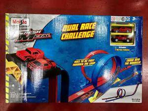 Pista De Autos Dual Race Challenge Rampa Original Maisto